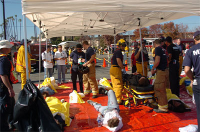 Operation College Freedom: MMST Disaster Drill at UCSD